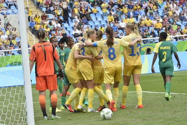 Damlandslaget i fotboll i OS i Rio 2016