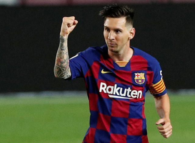 Argentinska klubben drömmer om att värva Lionel Messi
