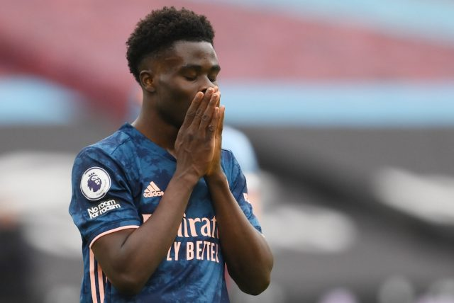 Uppgifter: Arsenal vill förlänga med Bukayo Saka